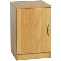 R White Single Cupboard B-C48 H728xW479xD540mm, Classic Oak