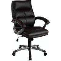 Eliza Tinsley Medium Back Executive Chair Black, Black