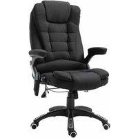 Rowan Heating Massage Executive Chair, Black