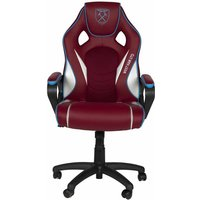 Province Quick Shot Reload West Ham FC Gaming Chair, Burgundy