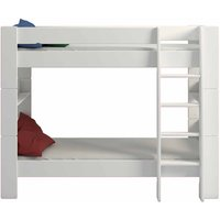 Steens for Kids Bunk Bed Single Bed Frame 3ft, White