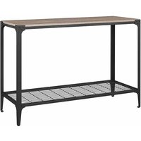 Avezzano Rustic Entryway Table, Driftwood