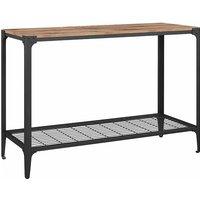 Avezzano Rustic Entryway Table, Oak Effect