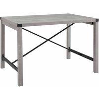 Fiske Metal X Dining Table, Wood