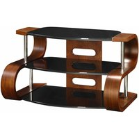 Jual Florence Curve TV Stand 1100mm  Walnut