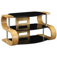 Jual Florence Curve TV Stand 850mm  Oak