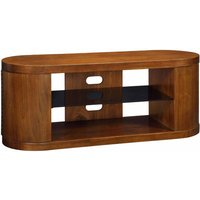 Jual Florence Curve Walnut TV Stand with Cupboards  Walnut