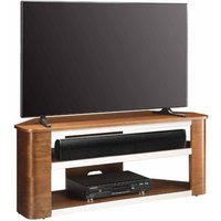 Jual Havana Curve Walnut Acoustic TV Stand  Walnut