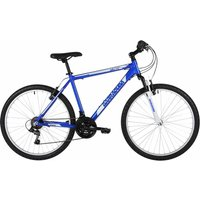 Barracuda Draco 100 Adult Mountain Bike 21 Inch Frame, Blue/White