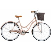 Barracuda Lacerta Heritage Ladies City Bike 19 Inch Frame, Rose Gold
