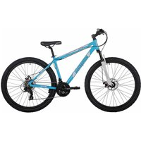 Barracuda Draco 3 Adult Mountain Bike 17 Inch Frame, Blue/White