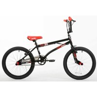 Barracuda FS Kids BMX Bike 20 Inch Wheel, Black/Red