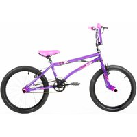 Barracuda FS Kids BMX Bike 20 Inch Wheel, Purple/Pink