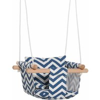 Zesty Baby Cushioned Canvas Swing