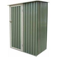 Charles Bentley 4-7ft x 3ft Metal Storage Shed