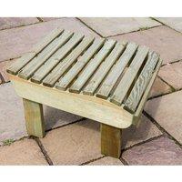 Zest4Leisure Lily Relax Garden Footstool