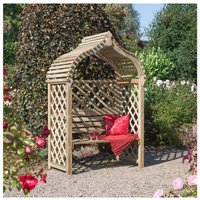 Rowlinson Jaipur Arbour Garden Furniture, Natural