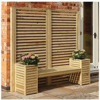 Rowlinson Garden Creations Seat Set, Natural