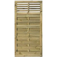 Rowlinson Langham Garden Screen Fencing or Gate 6ft x 3ft, Natural
