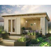 Rowlinson Oasis Garden Cabin  Natural