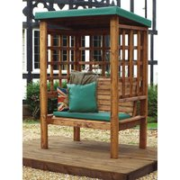Charles Taylor Bramham Two Seat Arbour, Green