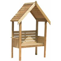 Shire FSC Blossom Pressure Treated Garden Arbour with Bench