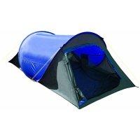 Summit Hydrahalt 2 Man Pop Up Tent 1500hh, Grey/blue