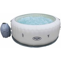 Lay-Z-Spa Paris Inflatable Portable Hot Tub with LED Lights