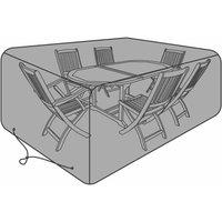 Charles Bentley Large 6 Seater Garden Furniture Cover, Black