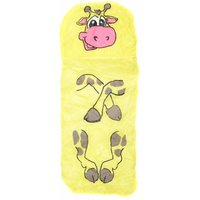 Childrens Jungle Animal Sleeping Giraffe, Yellow