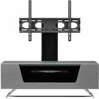 Alphason Chromium 1000 TV Cabinet with Bracket  Grey