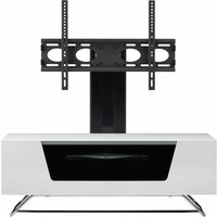 Alphason Chromium 1000 TV Cabinet with Bracket  White