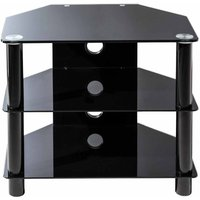 Alphason Essentials 600 TV Stand  Black