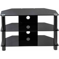 Alphason Essentials 800 TV Stand  Black
