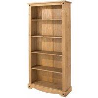 Corona Antique Wax Tall Bookcase, Anitque Wax