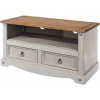 Corona Grey Flat Screen TV Unit  Grey