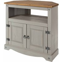 Corona Grey Corner TV Unit  Grey