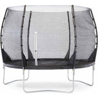 Plum Springsafe Trampoline and Enclosure 10ft, Black