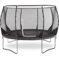 Plum Springsafe Trampoline and Enclosure 12ft, Black