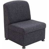 TC Office Glacier Modular Reception Chair, Charcoal