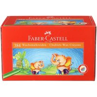 Faber-Castell Chublet Crayons Pack of 384 Assorted, Assorted