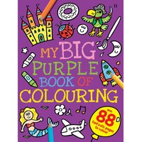 Image of My Big Purple Colouring Book