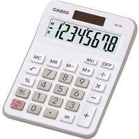 Casio MX8B Semi Desk Calculator, White