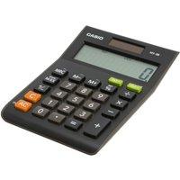 Casio MS-8S Semi Desk Calculator, Black