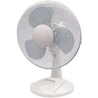 Q Connect 3 Speed Desktop Fan 12 Inch