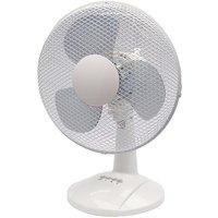 Q Connect 3 Speed Desktop Fan 12 Inch