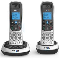 BT 2700 Cordless DECT Twin Phone with Nuisance Call Blocker and Answering Machine