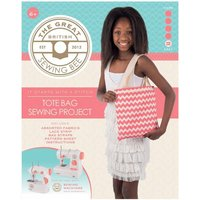 Great British Sewing Bee Tote Bag Sewing Kit, White