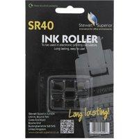 Stewart Superior SR40 Calculator Ink Roller Black, Black