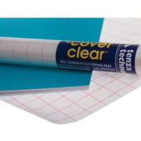 Tenza Book Covering Roll 500mm x 5m, Clear